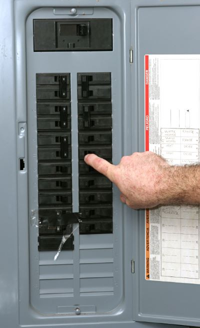 Electrical panel upgrades in Lake Worth by Echo Electrical Services, Inc.