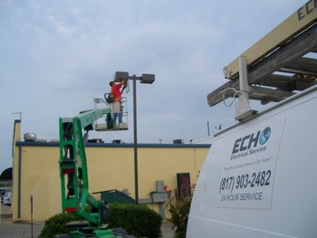 Echo Electrical Services, Inc. commercial electrician.