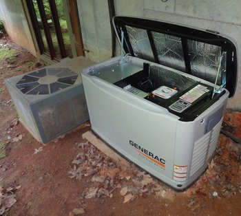 Generac generator installed by Echo Electrical Services, Inc..